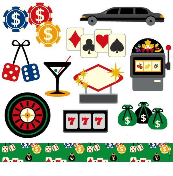 79c741f16cf6d Las Vegas casino clipart sale, commercial use, digital images, poker ...