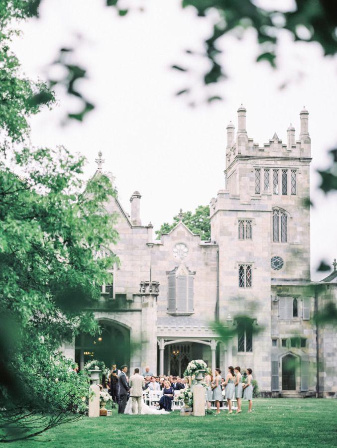 Elegant Garden Wedding at Lyndhurst Castle   Beautiful ...