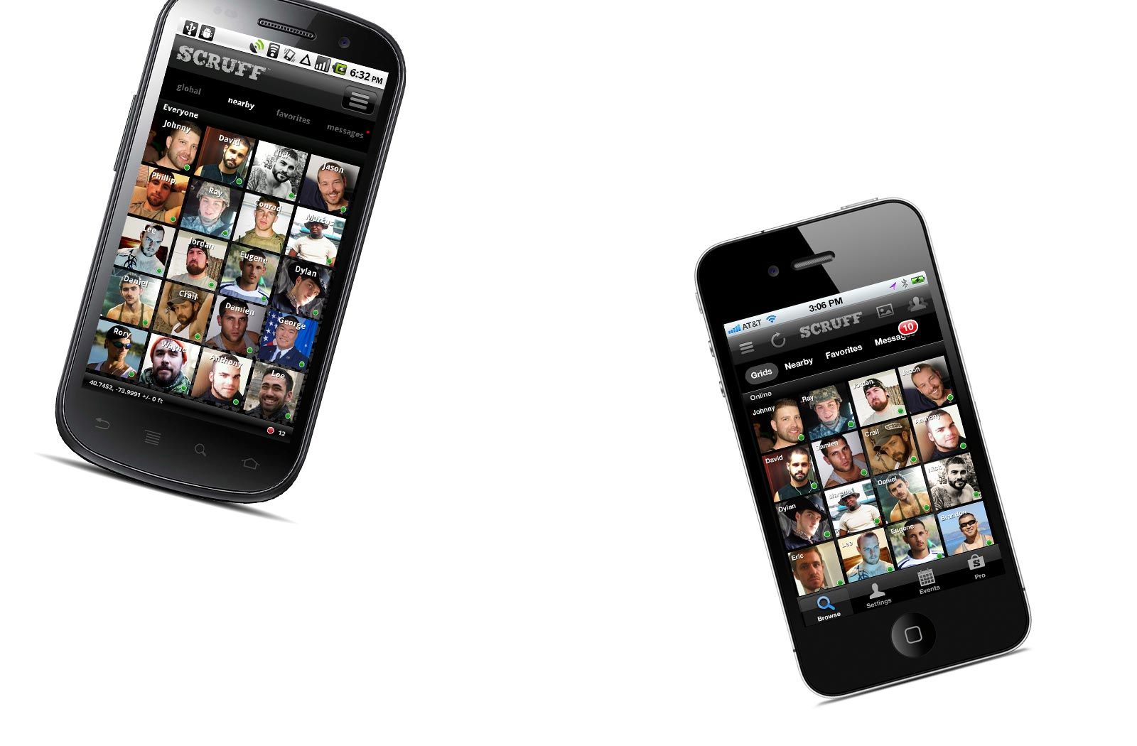 SCRUFF for iPhone + Android