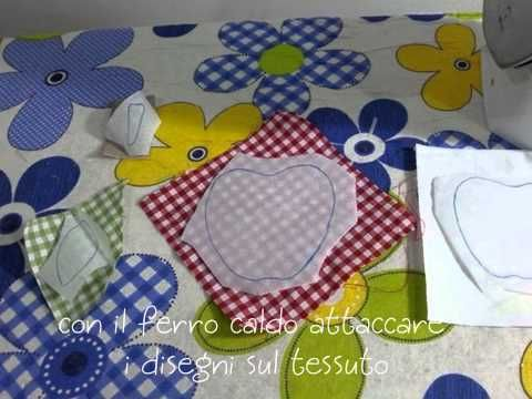 Idee Creative Cucito : Applique come si fa tutorial cucito creativo tutorial