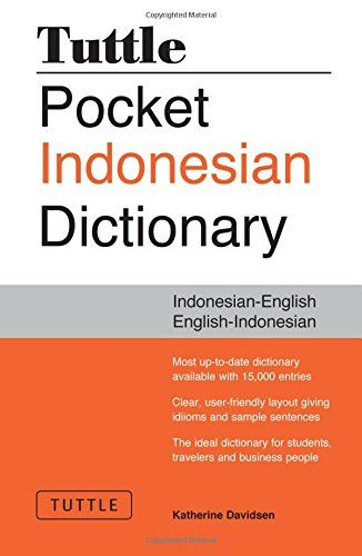Download free Tuttle Pocket Indonesian Dictionary