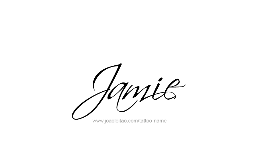 Jamie Name Tattoo Designs Jamie Name Pinterest Tattoos Name