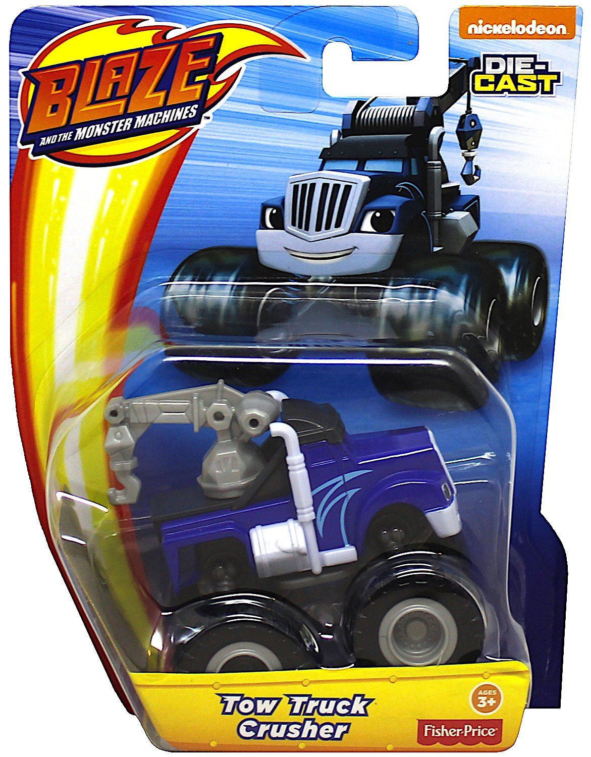 Nickelodeon Die Cast Blaze And The Monster Machines Tow Truck