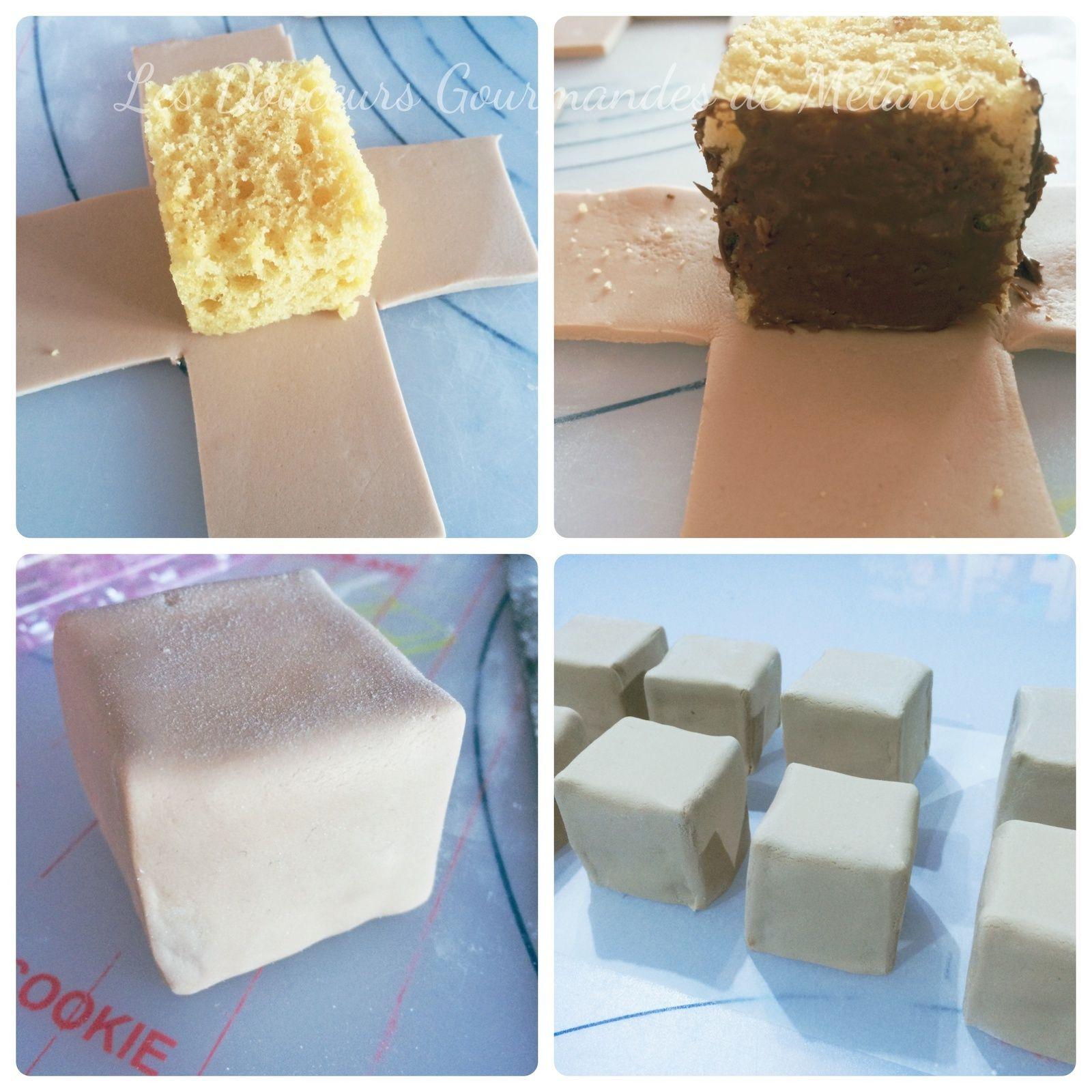 faire des cubes en p te sucre super g teau. Black Bedroom Furniture Sets. Home Design Ideas