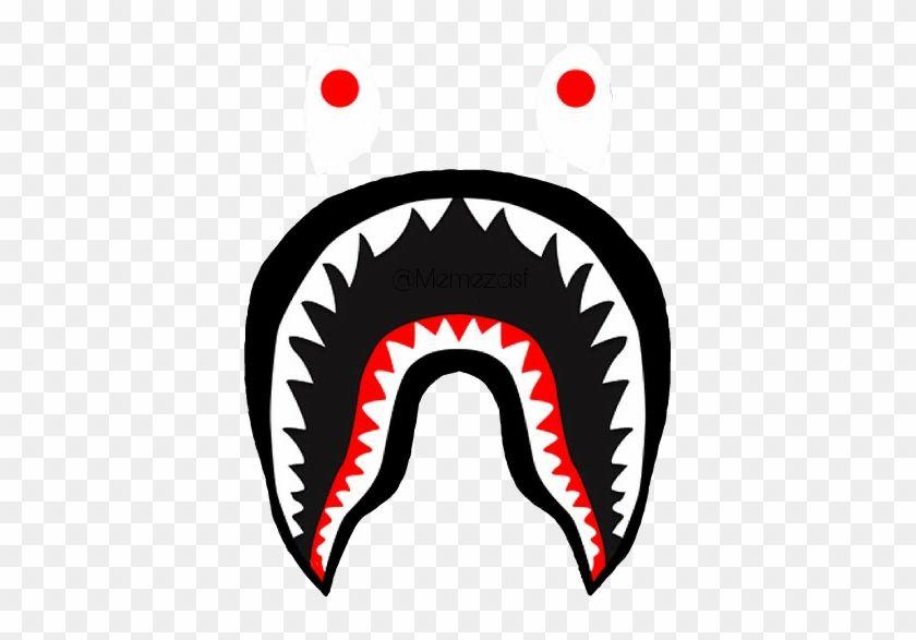 Pin By David On Bape S U P R E M E Shark Logo Bape Shark Shark Art