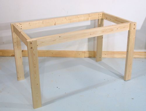 Simple Table Frame Build A Table Furniture Diy Table Frame