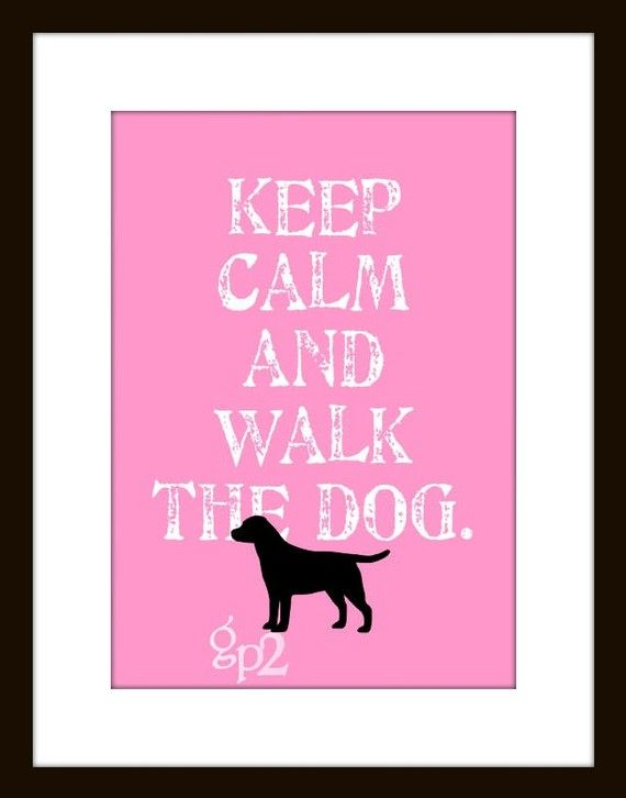 /'Keep Calm and Walk the Jack Russell/' funny Pet Dog Birthday Walking T-shirt