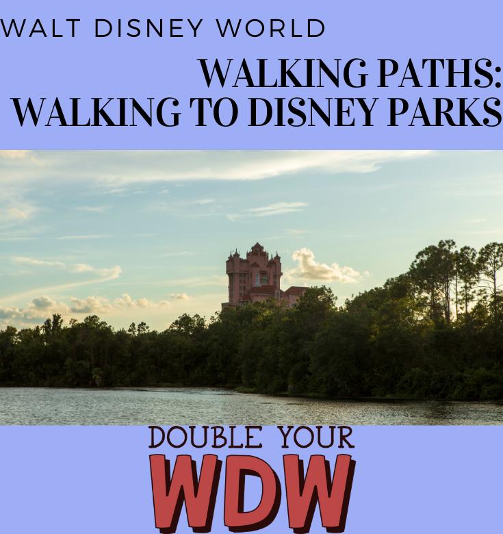 Walt Disney World Walking Paths