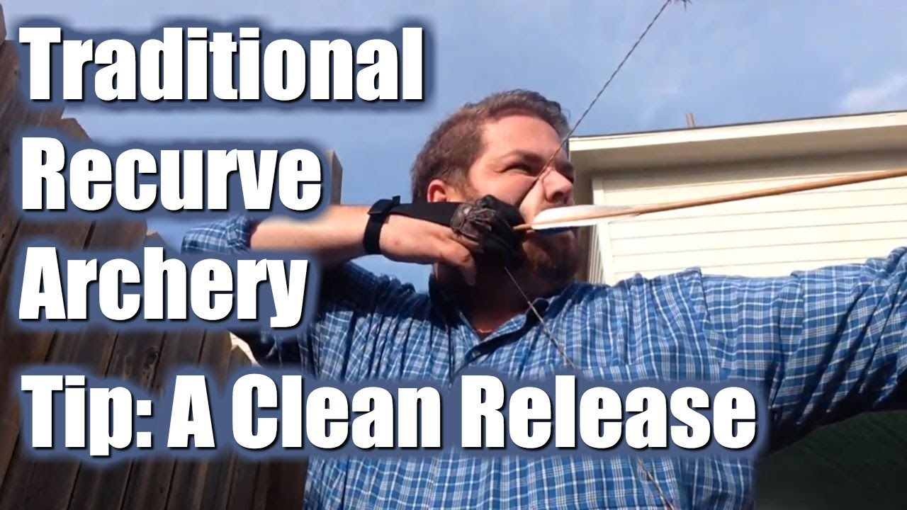 Hi Joe McClane here from http://CatholicHack.com with another Traditional Recurve Archery tip, the release.   In this video I discuss the release. The release is a critical component to accuracy and consistency in traditional recurve archery.