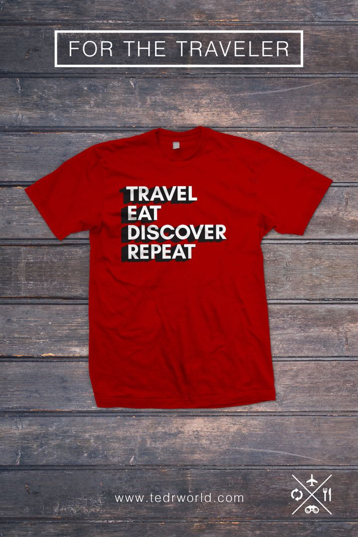 Looking for something to wear in your trips. Check out these shirts and accessories that will inspire your wanderlust and make you want to travel. #travel #apparel #wanderlust #traveldesign