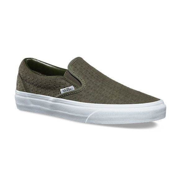 278074e897 Suede Embossed Weave Slip-On