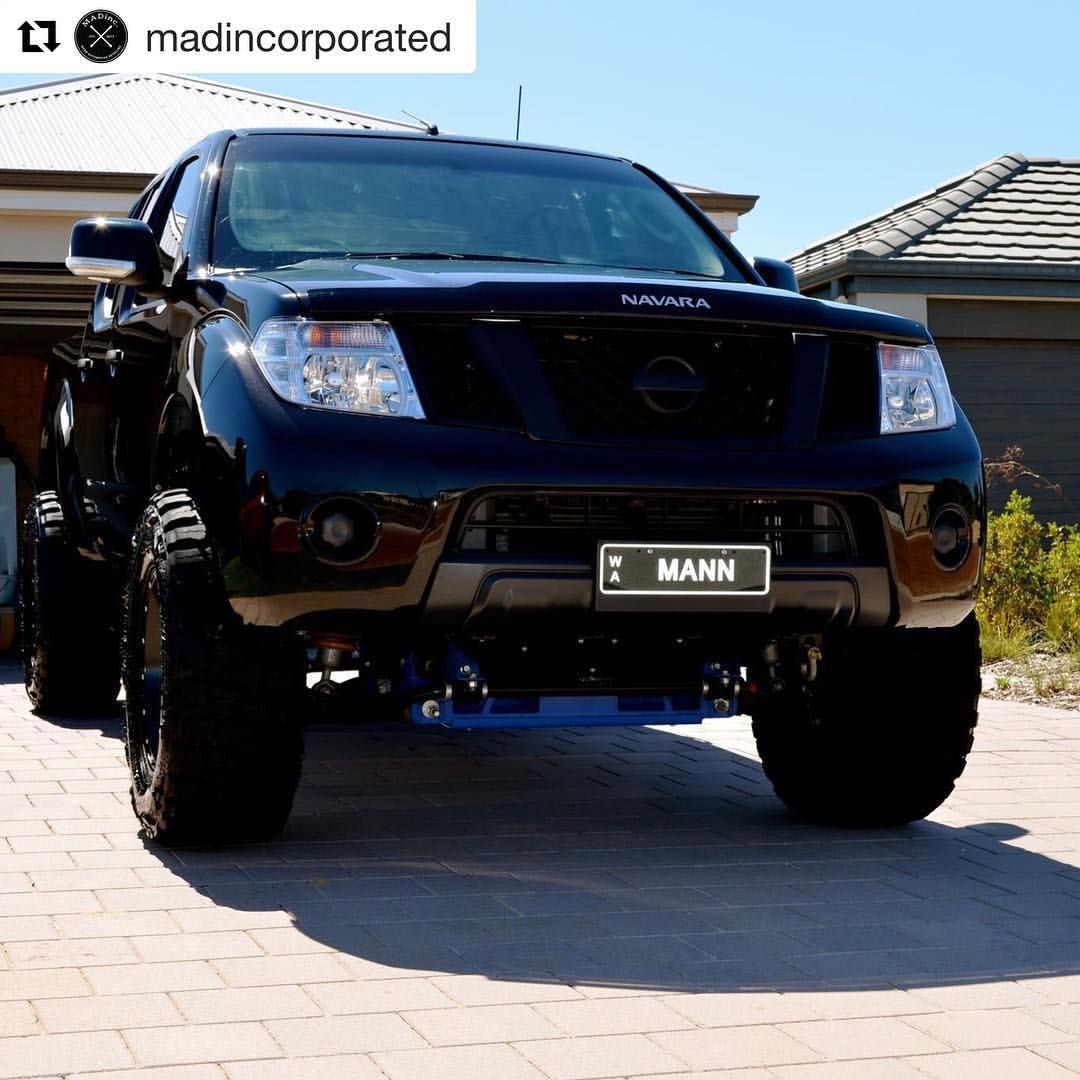Repost madincorporated ・・・ The old hack navara d40