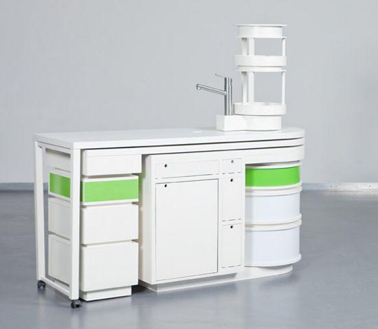 AuBergewohnlich Moderne Weiße Kücheninsel