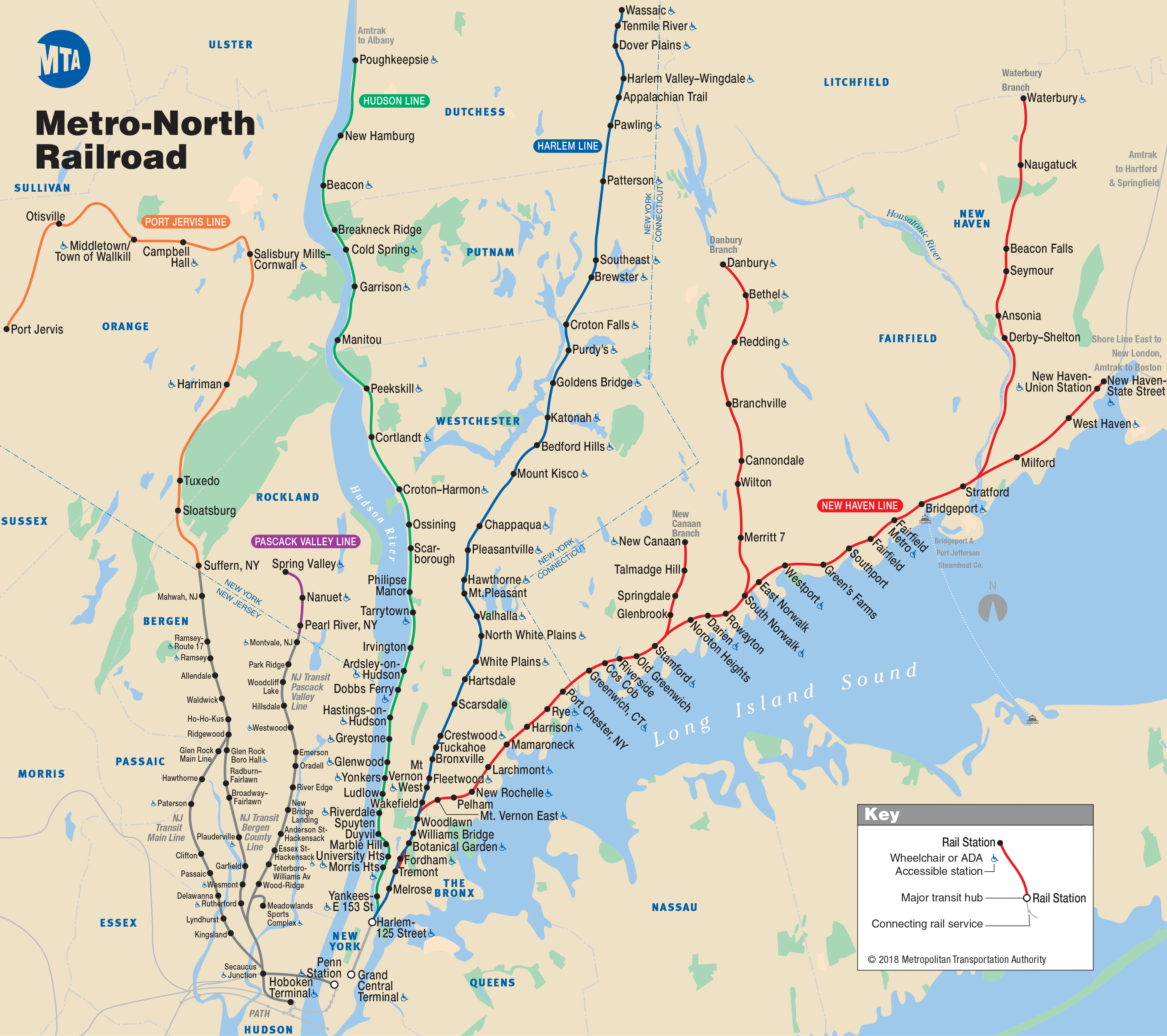 Map Of New York Rail System.Nyc Metro Bus And Railway System Website New York D C Metro