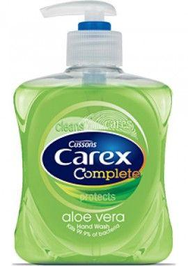Carex Aloe Vera Hand Wash Hand Washing Liquid Soap Aloe