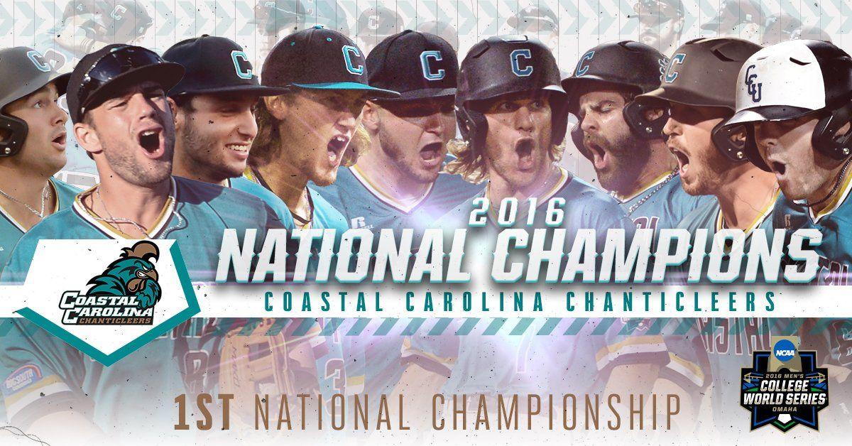 Coastal Carolina wins NCAA baseball championship https
