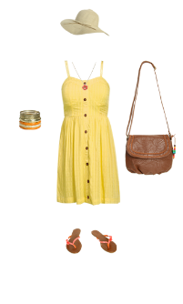 WetSeal.com Runway Outfit:  Sunshine and Breeze by amc2450. #WetSealSummer #Contest