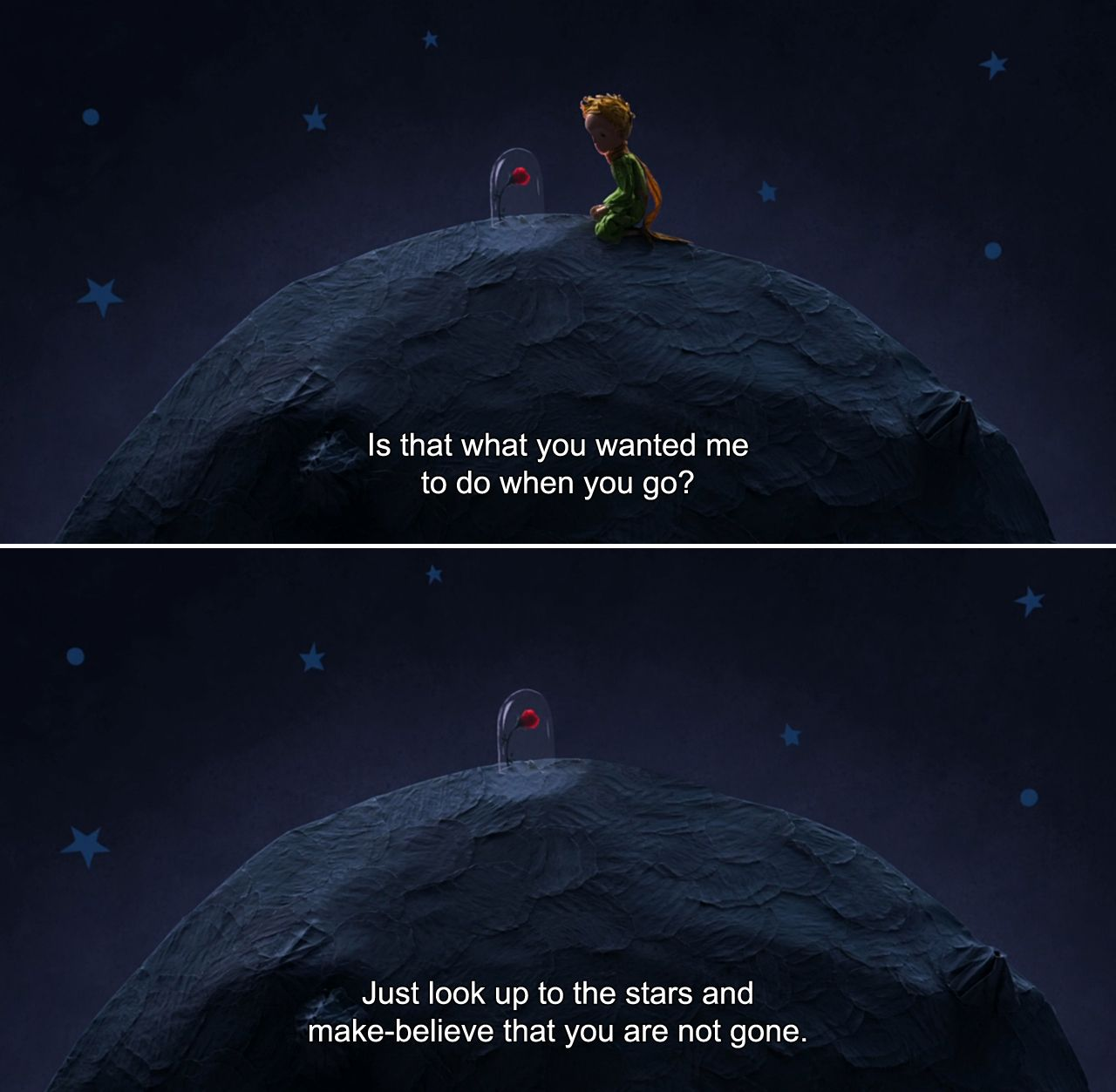 The Little Prince (2015)The Little Girl Is that what you