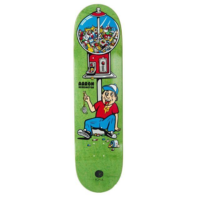 Polar Candy Machine Skateboard Deck 8 125 Inch Deck Width 8 125 Inches In 2020 Skateboard Skateboard Decks Skateboard Design
