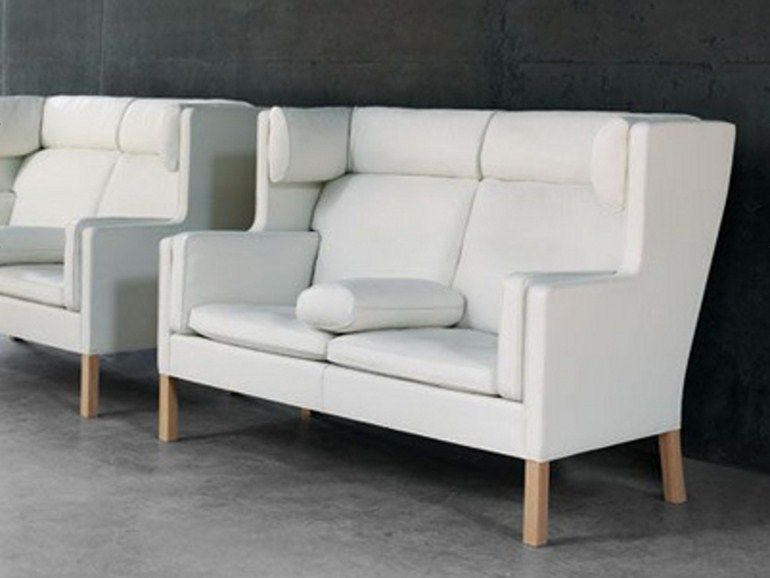 Upholstered 2 seater sofa 2192 21 Collection by FREDERICIA FURNITURE | design Børge Mogensen