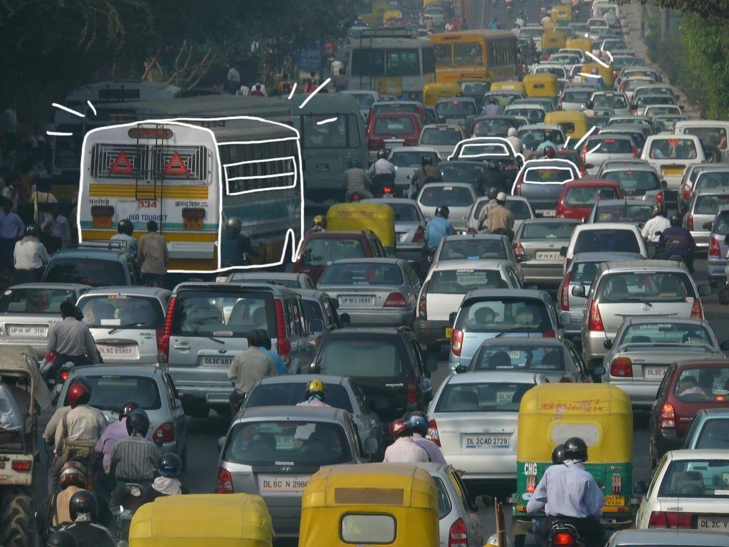 Elementum on Twitter Pollution, Traffic congestion