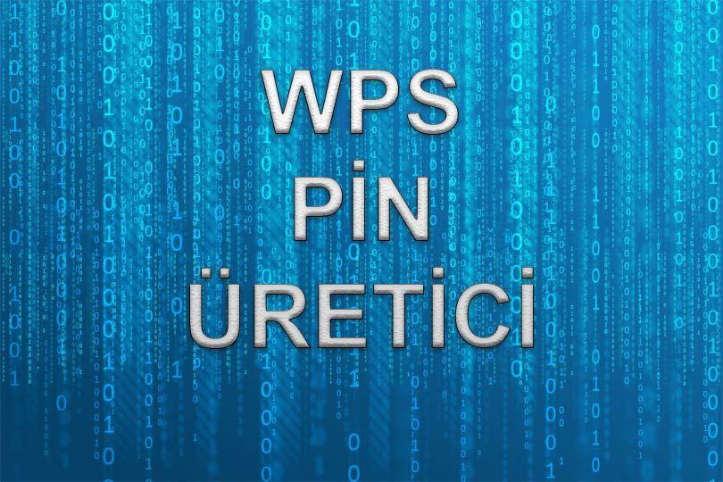 Wps pin bulucu (generator) siteler, herhangi bir apk