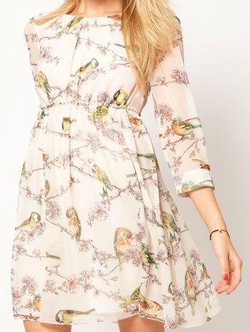 0aee9bff045 Ted Baker bird dress