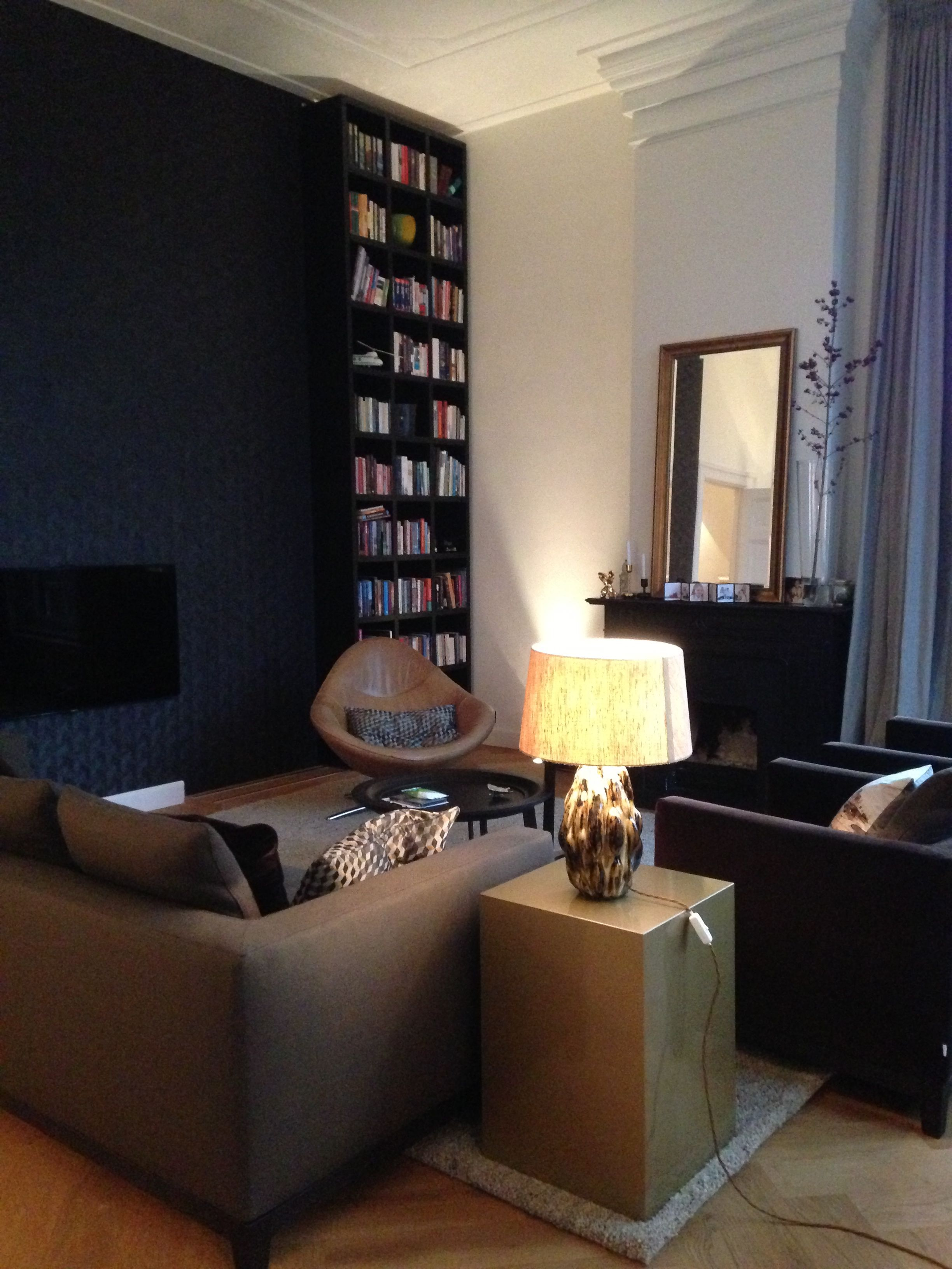 Interior Design By Studio Raef Rachel Van Dullemen Evelijn  # Bibliotheque Placo Design