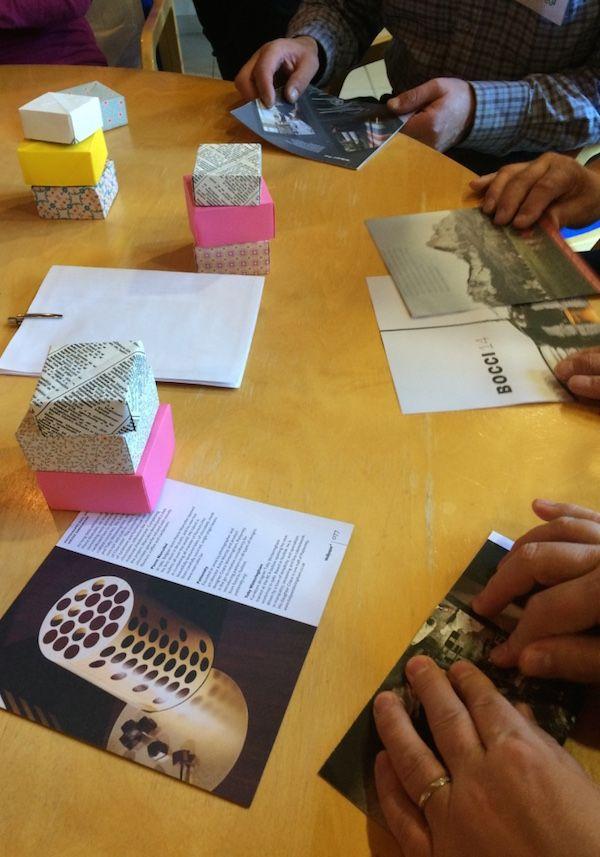 Taittele paperista origami-laatikko! | artisokka