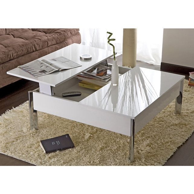 Table Basse Plateau Relevable Versus Coffee Table Table Home Decor
