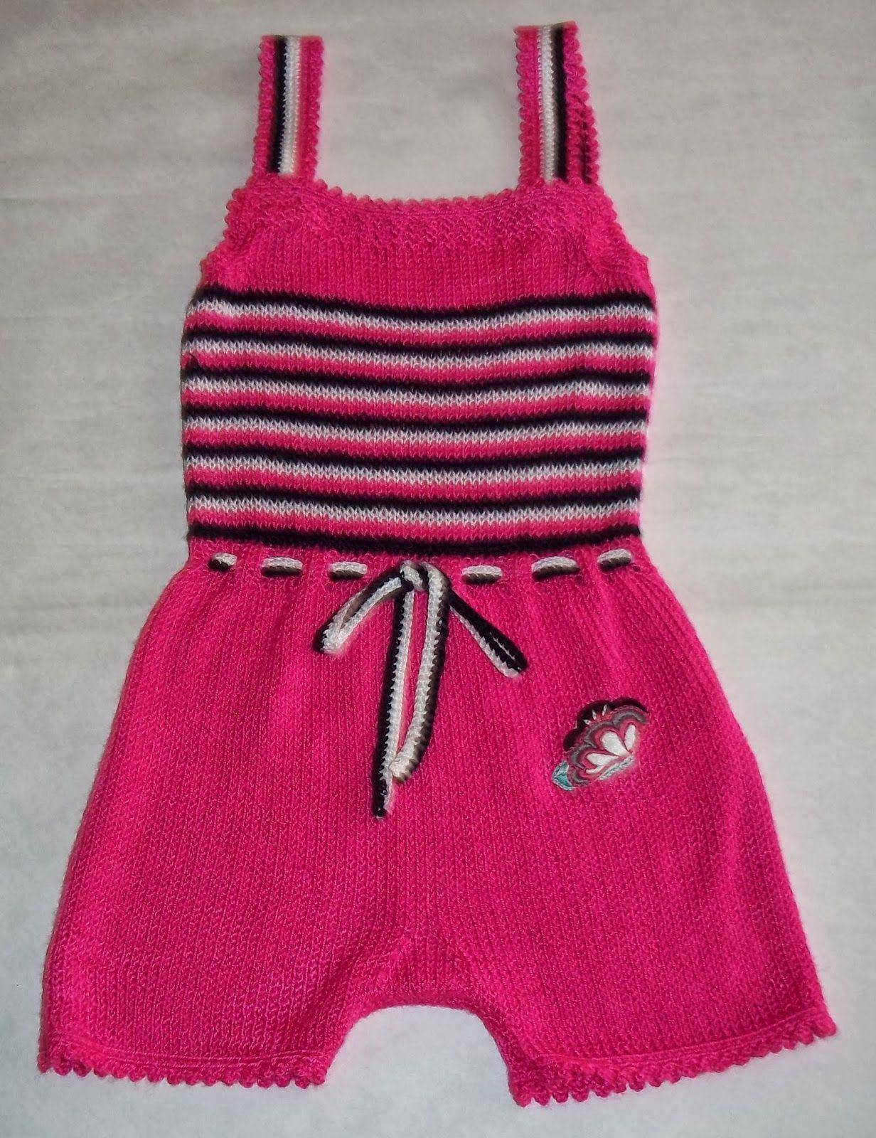 48ef083e87 Tejidos y bordados artesanales a mano - Carysol  MONOS PARA NIÑAS - Hasta  12 meses - Realizado en C..