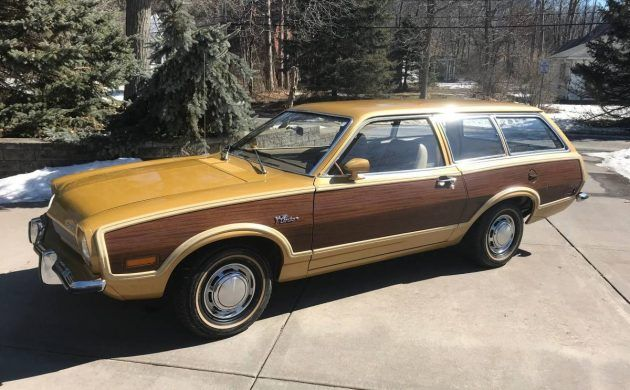 Clean Squire Edition: 1973 Ford Pinto Wagon