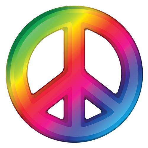 Peace Sign Emoticon Rainbow Peace Peace Sign Art Hippie Peace Sign Art