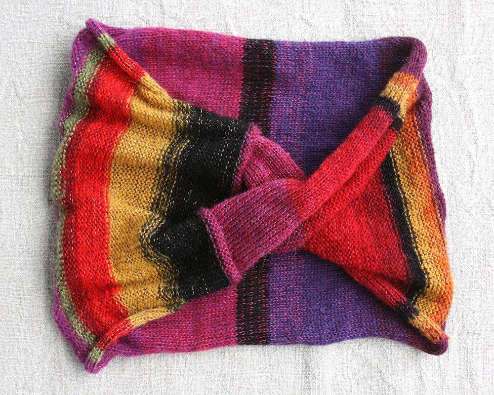 Image of Alsunga crazy cloth infinity scarf