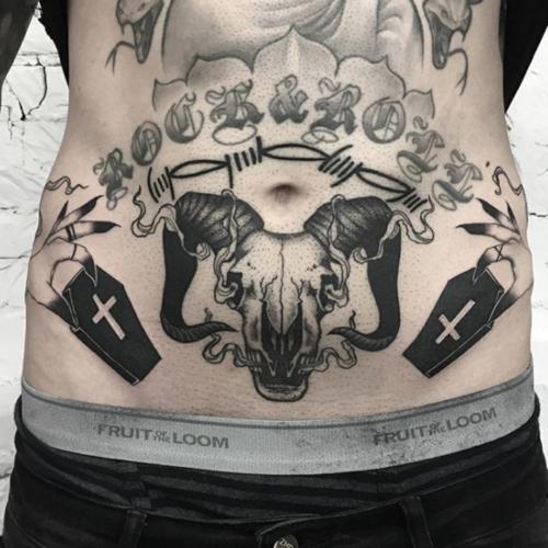 Done By Clarecastello Shop Inkandwatertattoo Toronto Canada Gothic Tattoo Cover Tattoo Dot Work Tattoo