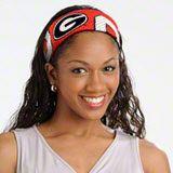 Georgia Bulldogs Headband: Jersey Fanband