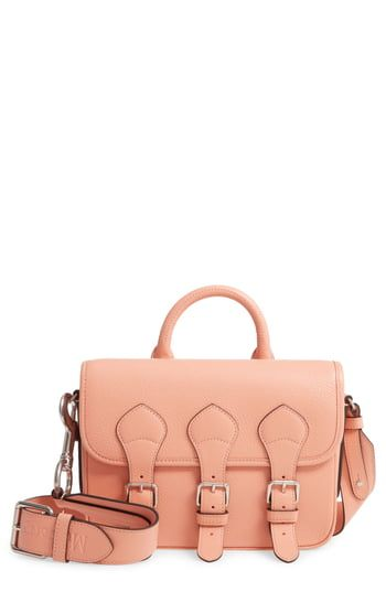 New Mulberry & Acne Studios Small Leather Messenger Bag online shopping - Togreatshop #mulberrybag