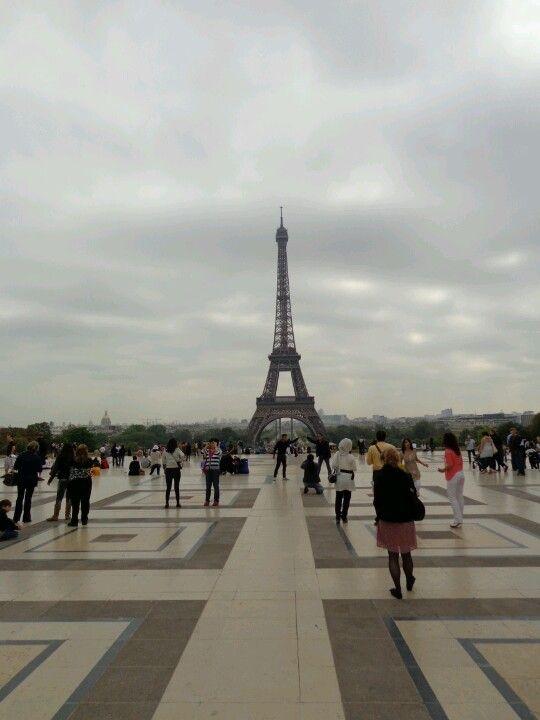 Paris desde el trocadero