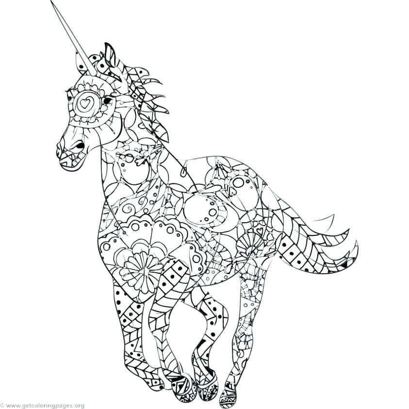 Fresh Coloring Pages Realistic Animals Download | Unicorn ...