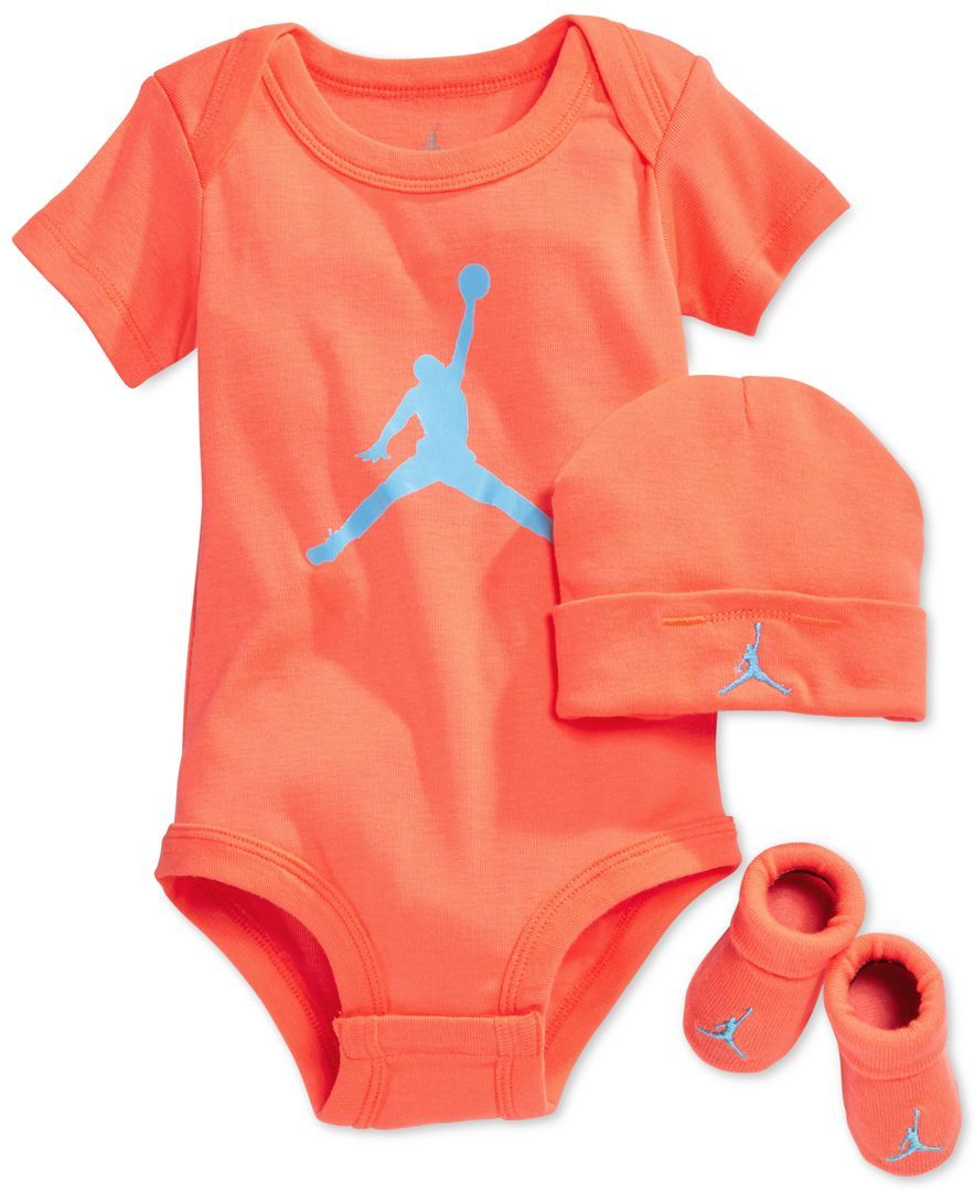 68c2b9919d1 Jordan Baby Boys  Three-Piece Jordan Jumpman Set