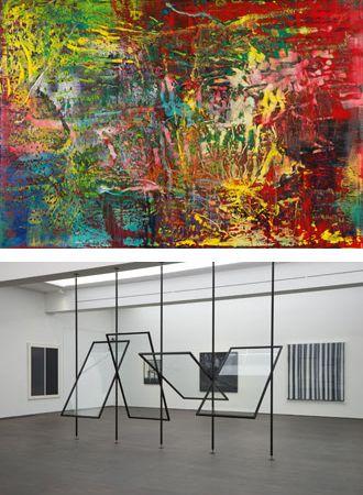 L'agora des arts - Expo à l'étranger - Gerhard Richter. De la peinture