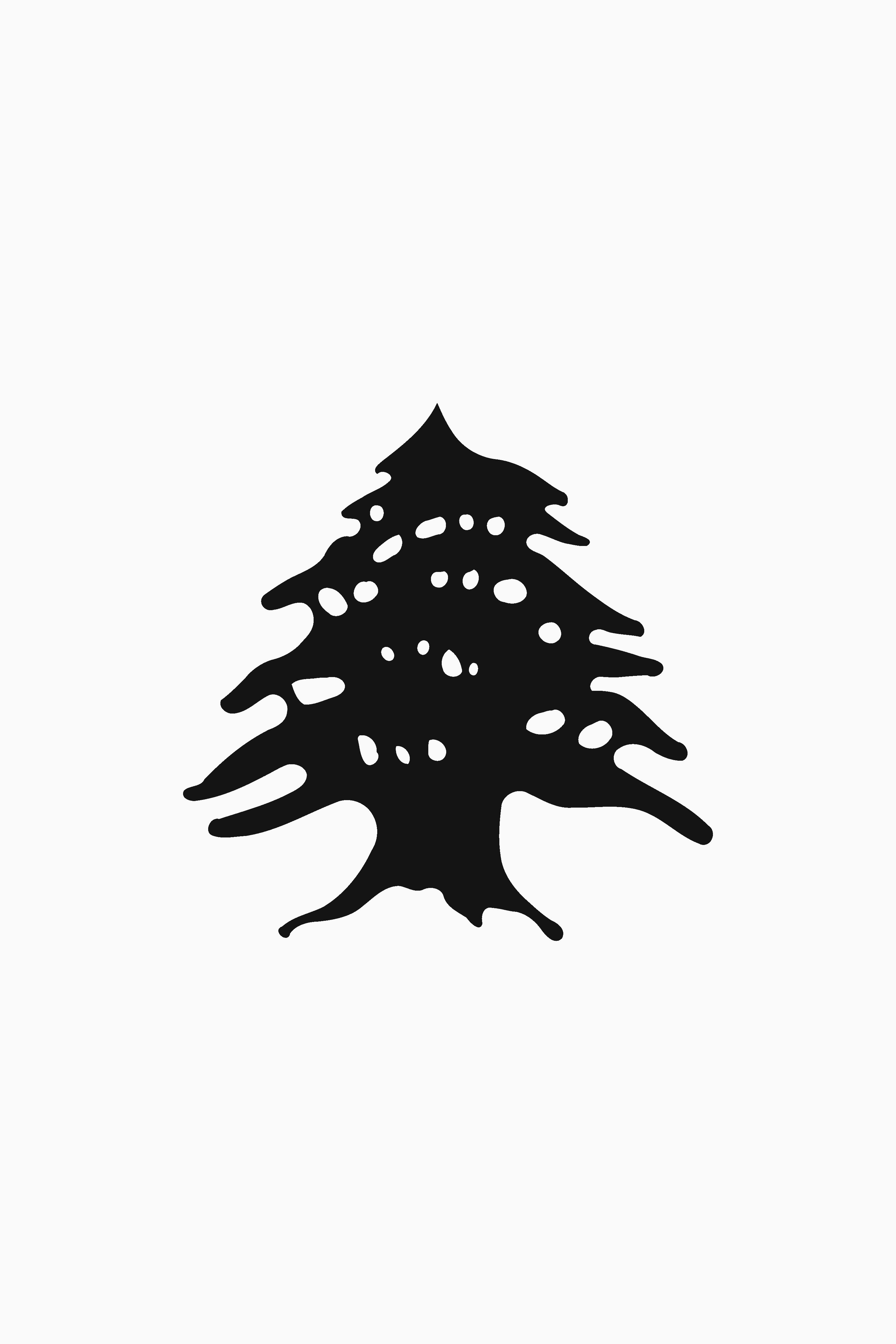 Le Cèdre - Cedar Tree Lebanon Log Clipart (#5749957) - PinClipart