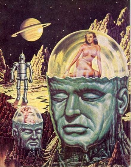 Pin By Universo Retro On Space Age Science Fiction Pulp Science Fiction Pulp Fiction Art