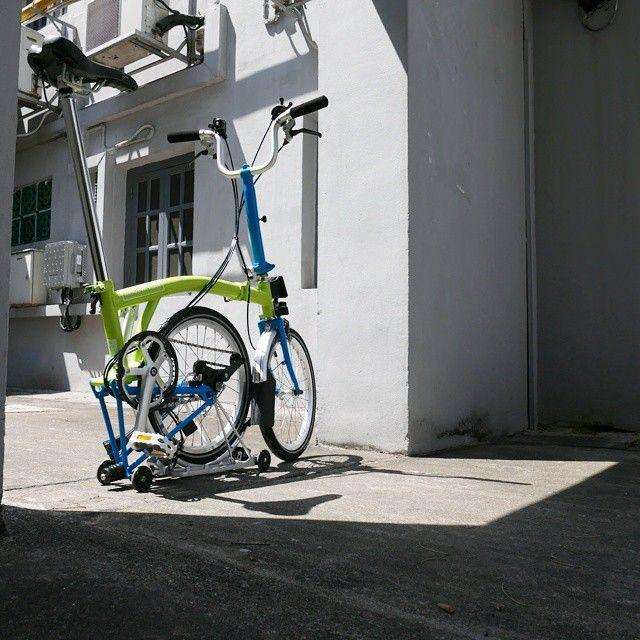 Mini Cooper Folding Bike Lime Folding Bike Mini Cooper Bicycle