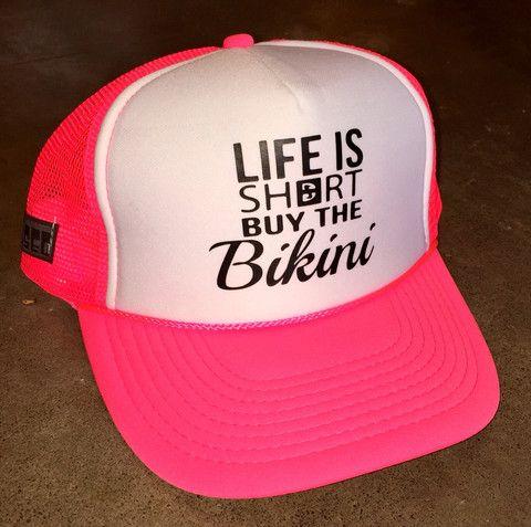 Buy The Bikini Trucker Hat – FUSED HAWAII