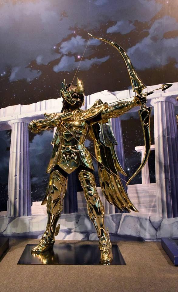 Armadura de Sagitario em tamanho real. | Cavaleiros do ...  Armadura De Sagitario