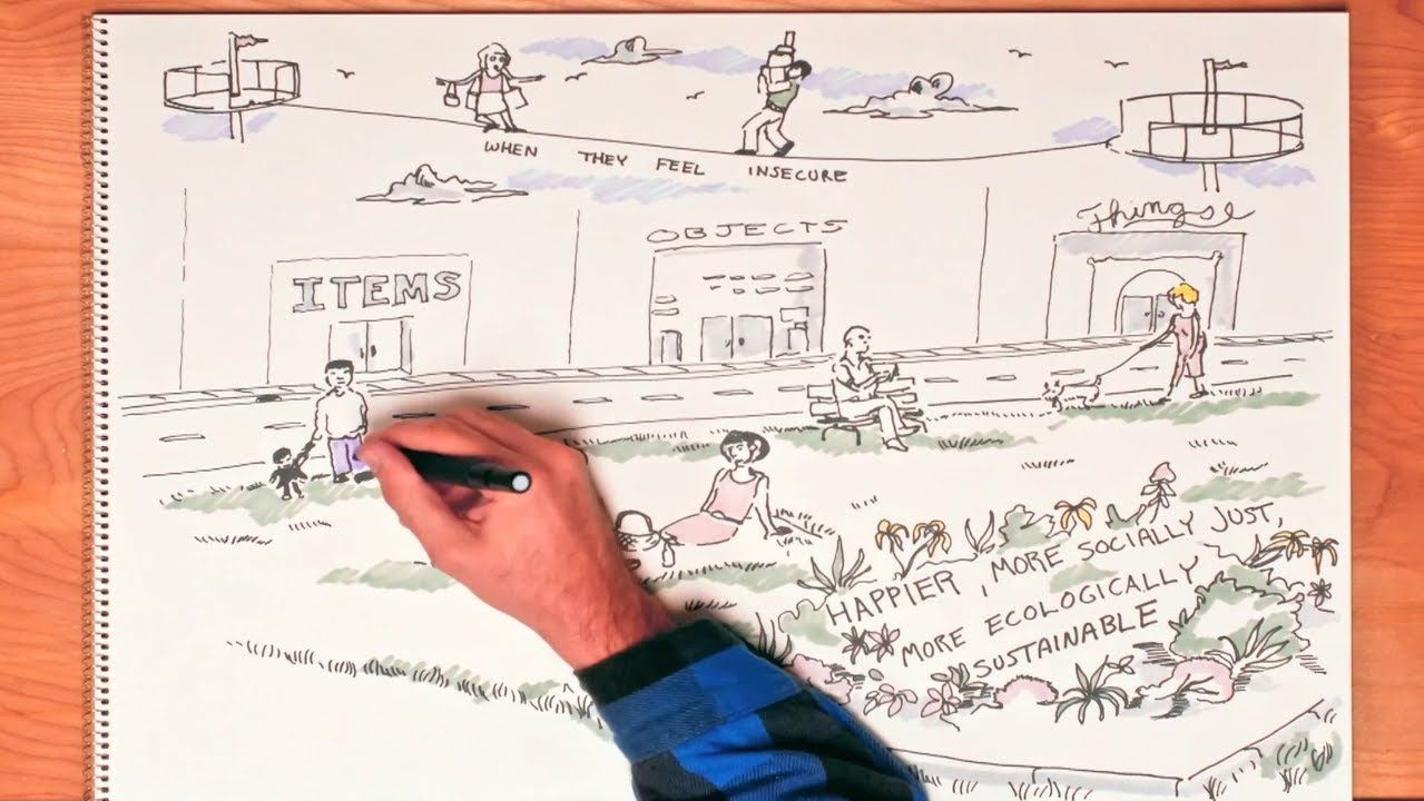The High Price Of Materialism An Informative Sketch That Gets