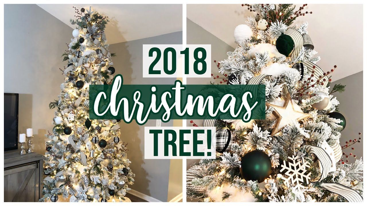 2018 Christmas Tree 4 Tips For A Designer Look Youtube Green Christmas Tree Decorations Farmhouse Christmas Ornaments Christmas Tree Inspiration