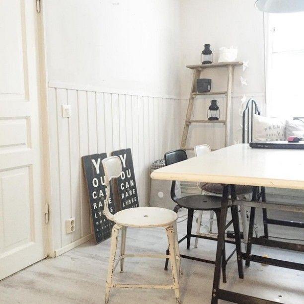 Mikä sen parempaa kuin puuhata kotijuttuja pakkaspäivänä. Niin totta. #Repost: #inspiroivakoti by @mallaruutiainen #sisustus #styleroom_fi #keittiö