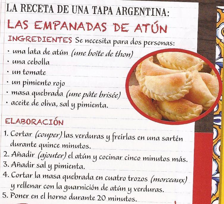 Empanadas de atún | a la cocina | Empanadas, Food, Argentina food